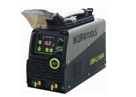 今だけ特別付属品付き!IKURA育良精機 ライトアーク ポータブルバッテリー溶接機 ISK-Li160A