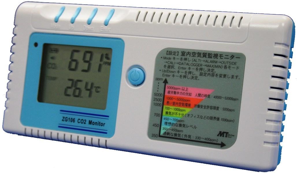 マザーツール CO2Plus温度モニター【ZG-106】
