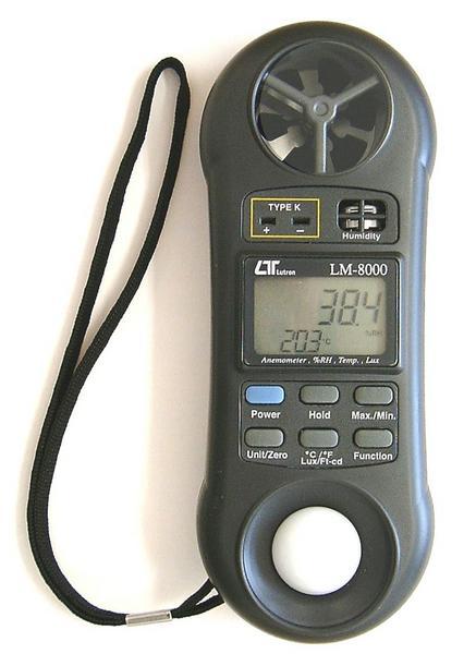 マザーツール マルチ環境測定器【LM-8000】