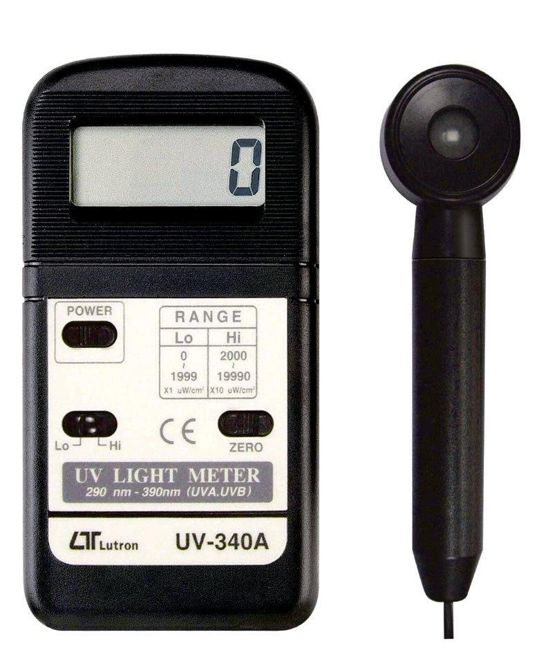 マザーツール デジタル紫外線強度計【UV-340A】