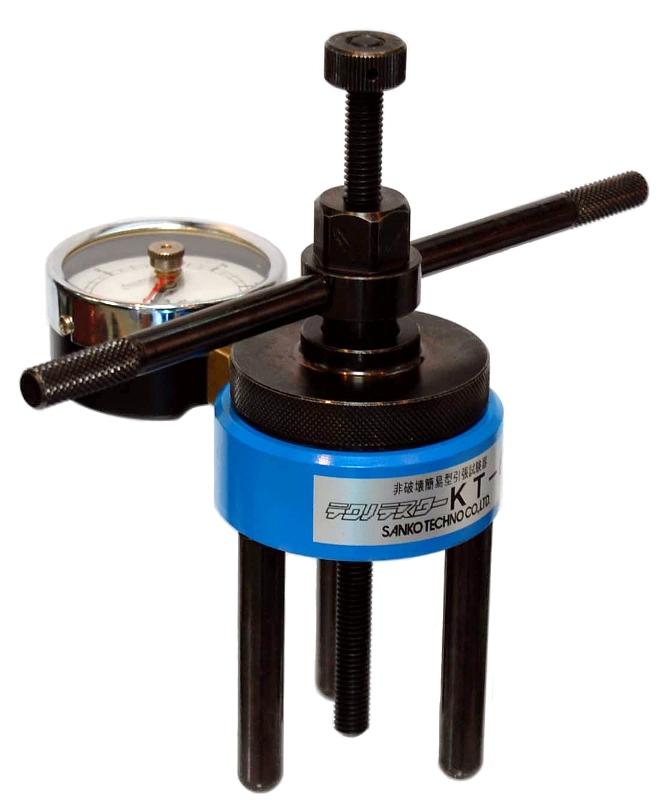 サンコー テクノテスター 非破壊簡易型引張試験器 KT-6 (最大荷重:6kN)