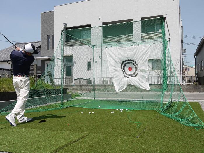 [法人様宛は送料無料(送料区分A)]■ゴルフネットGTR-300 返球・大型据置式 南英工業ゴルフターゲットシリーズ