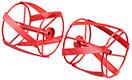 送料込■リョービRYOBI 電気カルチベータ(耕運機)用アクセサリー スパイラルロータ(左右セット)