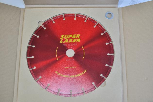 エホートEFFORT スーパーレーザー ダイヤ ED-12(305x30.5H) 乾式