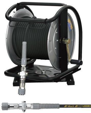 [マッハMach]フジマック 高圧用C型ドラム スーパースムージーホース ダスターソケット付 GHDB-630C