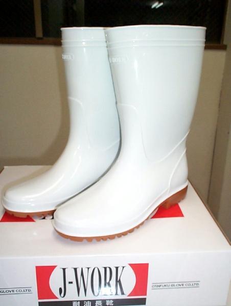 商品代金11 000円以上で送料無料 J-WORK (訳ありセール 格安) 抗菌防滑耐油長靴 防滑ソール 白 引き出物 #707