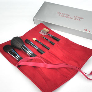 Six Kumano makeup writing brush set BP13 [HLS_DU] [easy ギフ _ packing]