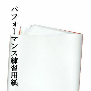 大作や 書道パフォーマンスの作品の練習にに十分使える大きさの紙 書道半紙を大きくカットした用紙です 超特価 わけあり大きな練習用紙サイズ:約1m×4m入数:20枚 定番から日本未入荷