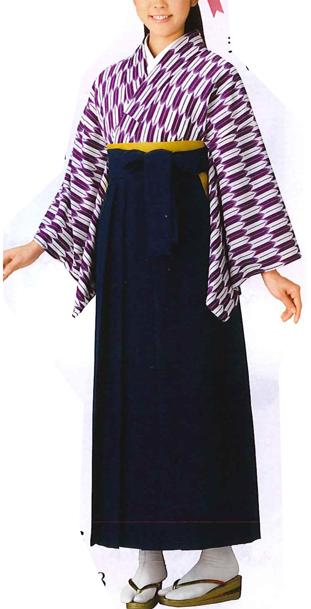 女袴|卒業式|はいからさんが通る|ウール|紺