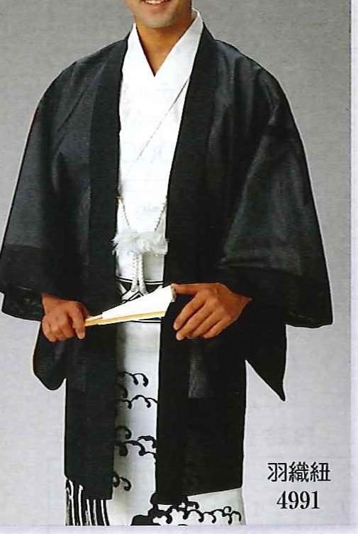 【洗える】駒絽羽織 紳士 夏の羽織 透ける 羽織紐別売