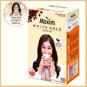 【マキシム】ホワイトゴールド100包x1箱(8個)★1個当たり¥1,605(税別)