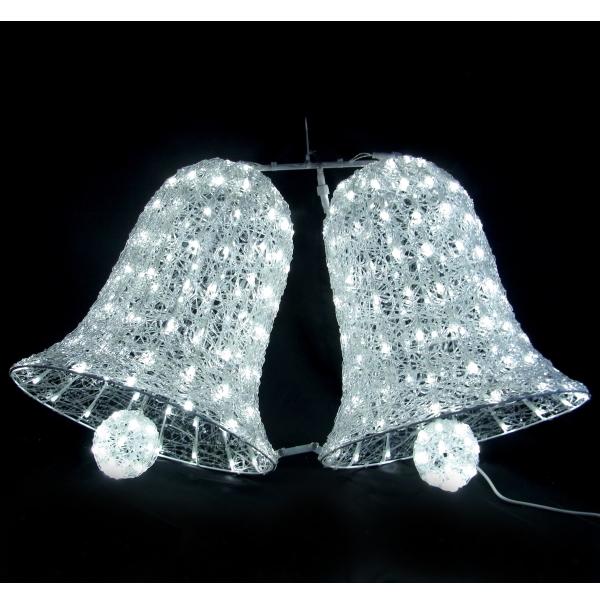 LEDイルミネーション/3Dモチーフライト ビッグベル/イルミネーション/送料無料/クリスマス/LED ホワイト/ベル/コロナ産業/RCP/05P03Sep16/【HLS_DU】