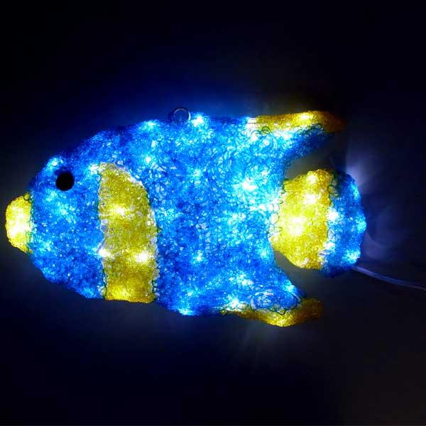 LEDイルミネーション/3Dシーアニマル/LEDエンゼルフィッシュ/イルミネーション/送料無料/クリスマス/LED/コロナ産業/RCP/05P03Sep16/【HLS_DU】
