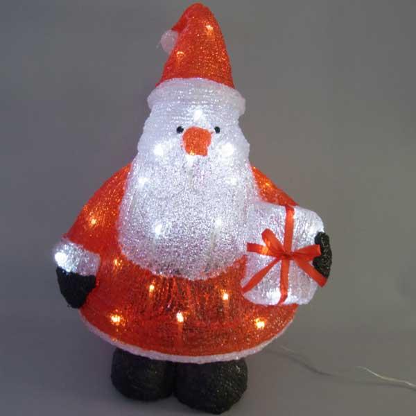 LEDイルミネーション/3Dサンタモチーフ/ LED三角サンタ/イルミネーション/クリスマス/サンタクロース/LED/コロナ産業/RCP/05P03Sep16/【HLS_DU】