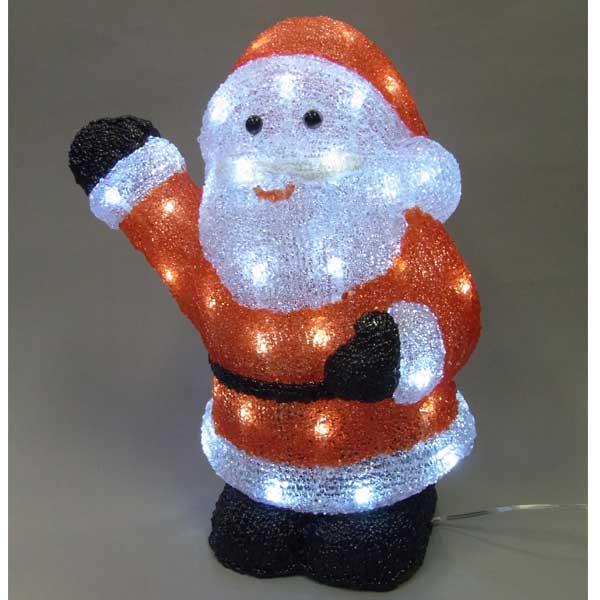 LEDイルミネーション/3Dサンタモチーフ/ LEDサンタクロース/イルミネーション/クリスマス/サンタクロース/LED/コロナ産業/RCP/05P03Sep16/【HLS_DU】
