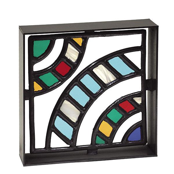 シャインガラスブロック アール型ステンド /日本製/青銅/錫合金/ガラス/D-1/RCP/05P03Sep16/【HLS_DU】, 陶器と雑貨 KOSETO plus:7cbde88d --- sunward.msk.ru