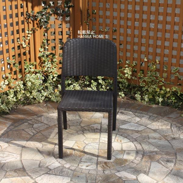 庭座シンプルチェアー/ガーデンチェアー/RCP/05P03Dec16/【HLS_DU】