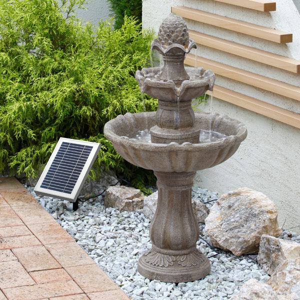 Solar Patio Fountain Water Rcp