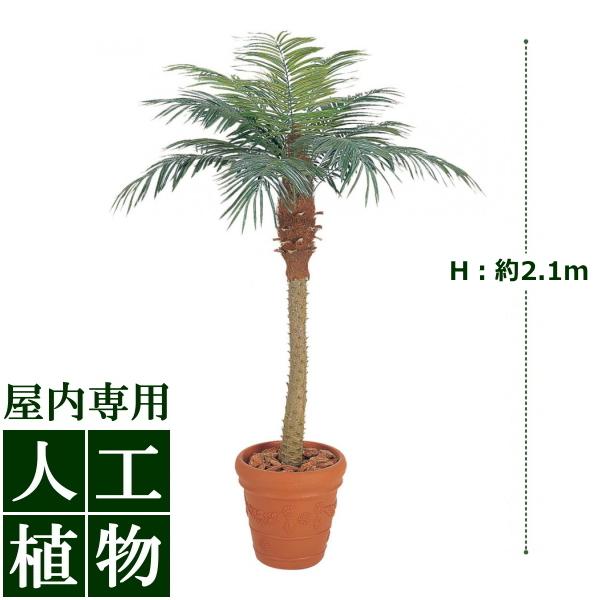 /人工植物/グリーンデコ鉢付 フェニックス 2.1m/送料無料/RCP/05P03Sep16/【HLS_DU】