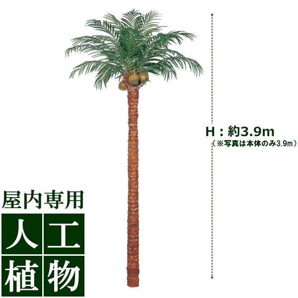 「美しい」がずっと続く。自然な色合い、表情が美しい人工植物。 /人工植物/グリーンデコ 大型人工樹 サイパンヤシ 組立式 鉢付 3.9m/送料無料/RCP/05P03Sep16/【HLS_DU】