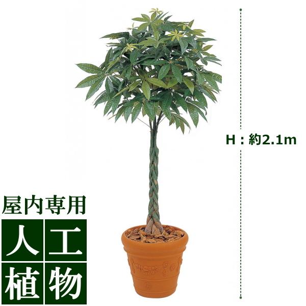 /人工植物/グリーンデコ パキラ 2.1m/送料無料/RCP/05P03Sep16/【HLS_DU】