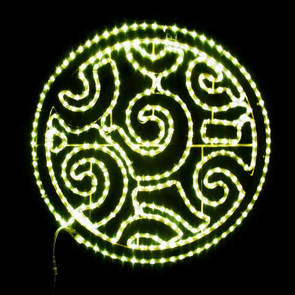 LEDイルミネーション/2Dモチーフライト デザインサークル/イルミネーション/クリスマス/LED/コロナ産業/RCP/05P03Sep16/【HLS_DU】