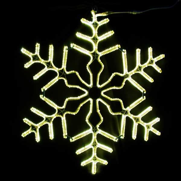 LEDイルミネーション/2Dモチーフライト/スノーフレーク/ブライトスノーフレーク/イルミネーション/クリスマス/LED/コロナ産業/RCP/05P03Sep16/【HLS_DU】