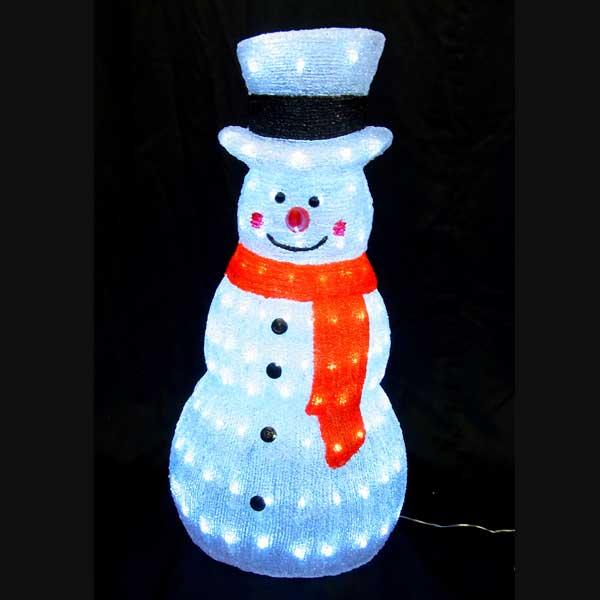 LEDイルミネーション/3Dスノーマンモチーフ/LED ホワイトスノーマン/イルミネーション/クリスマス/LED/コロナ産業/RCP/05P03Sep16/【HLS_DU】