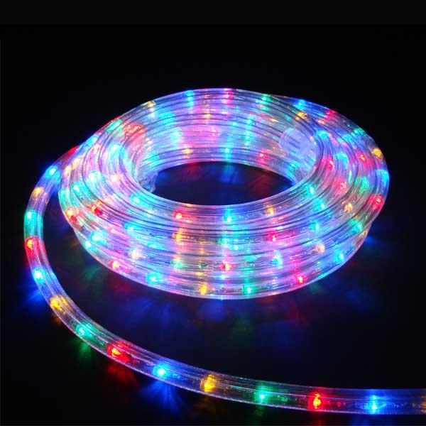 LEDイルミネーション/LEDルミネチューブ 4色ミックス6mセット/イルミネーション/クリスマス/送料無料/コロナ産業/RCP/05P03Sep16/【HLS_DU】
