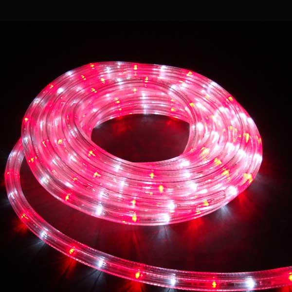 LEDイルミネーション/LEDルミネチューブ ホワイト&レッド6mセット/イルミネーション/クリスマス/送料無料/コロナ産業/RCP/05P03Sep16/【HLS_DU】