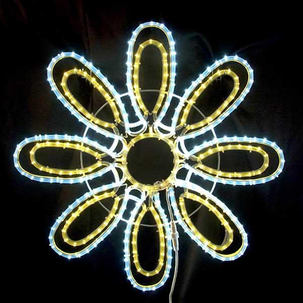 LEDイルミネーション/2Dスターモチーフ/フラワー/イルミネーション/クリスマス/コロナ産業/RCP/