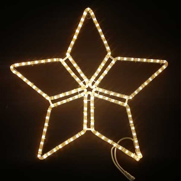 LEDイルミネーション/2Dスターモチーフ/LED ファイブスター/イルミネーション/クリスマス/チューブライト/コロナ産業/RCP/