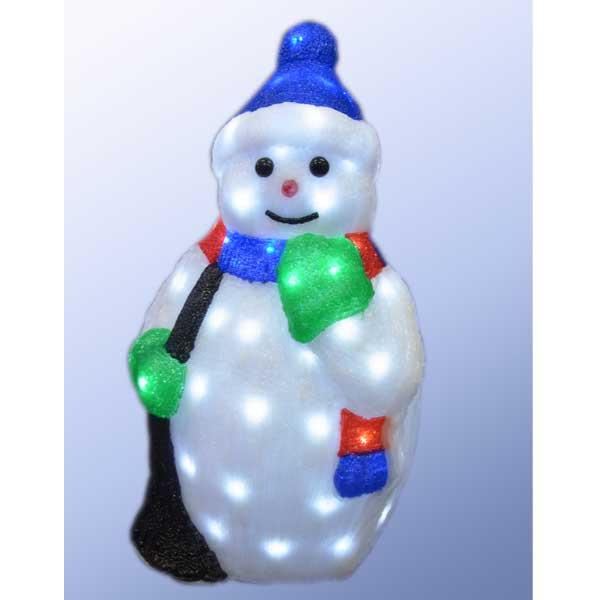 LEDイルミネーション/3Dスノーマンモチーフ LED フロストスノーマン/イルミネーション/クリスマス/コロナ産業/RCP