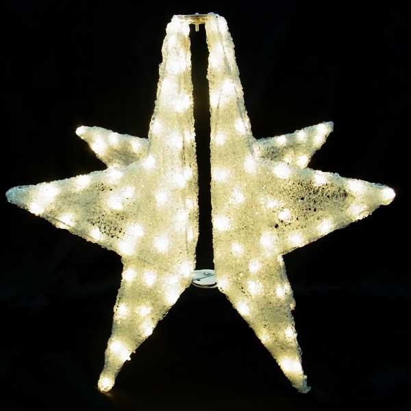 LEDイルミネーション/3Dモチーフライト LED 3Dスター/イルミネーション/クリスマス/コロナ産業/RCP