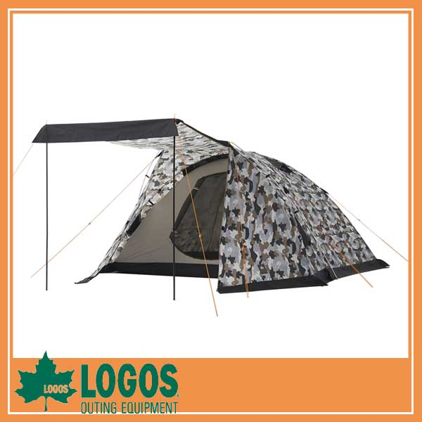 LOGOS ロゴス ベーシックドーム・PLR XL(カモフラ)/テント タープ 五人用  キャンプ バーベキュー BBQ アウトドア ピクニック/RCP/05P03Sep16/【HLS_DU】