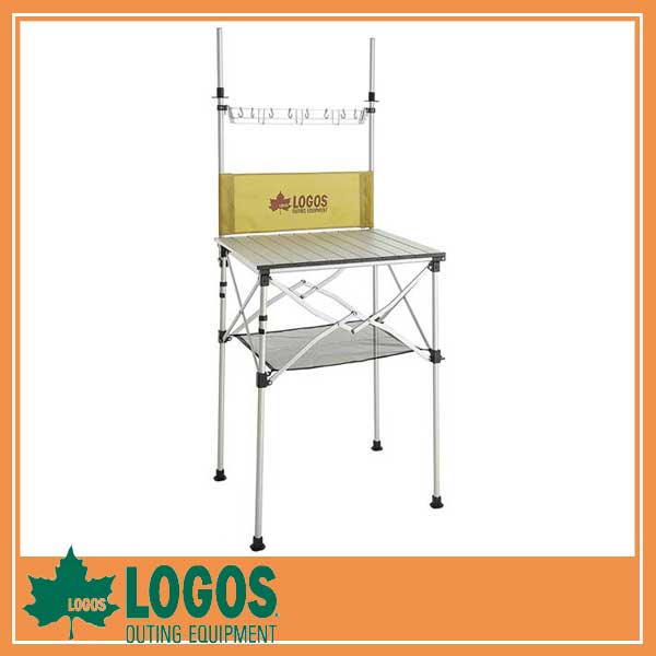 LOGOS ロゴス smart LOGOS Kitchen クックテーブル(風防付き)/システムキッチン テーブル キャンプ バーベキュー BBQ アウトドア ピクニック/RCP/05P03Sep16/【HLS_DU】