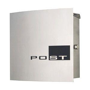 マックスノブロック ウィーンステンレス(wien)/壁掛け式郵便ポスト/郵便ポスト 壁付け/送料無料/C-1/RCP/05P03Sep16/【HLS_DU】