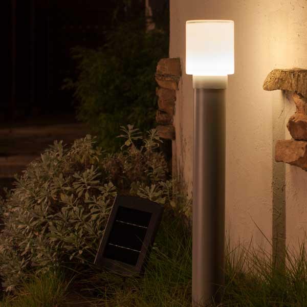 ソーラーライト ホームEX ポールライト L/ソーラーライト/ガーデンライト/ガーデンソーラーライト/スポットライト/アップライト/照明/送料無料/RCP