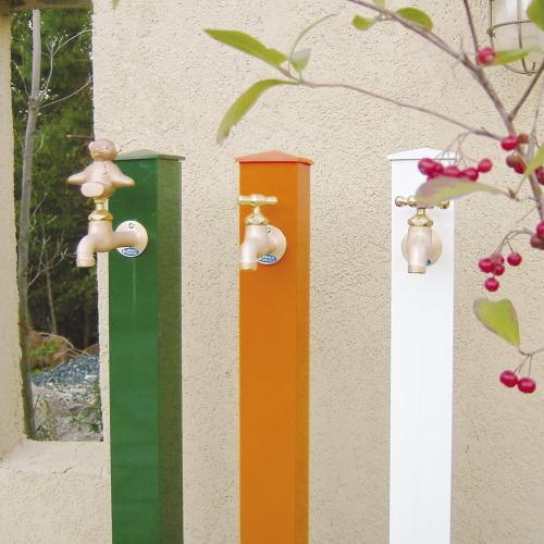 /水栓柱/ カラーアルミ立水栓 /送料無料/D-1/RCP/05P03Sep16/【HLS_DU】