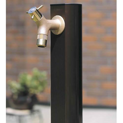 /水栓柱/ramo(鋳肌)付アルミ水栓柱(ライトブロンズ900)/送料無料/D-1/RCP/05P03Sep16/【HLS_DU】