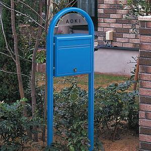 【送料無料】郵便ポスト ポスティモ (ネームプレートなし)/標準ダイヤル錠付/郵便ポスト 置き型/YKKapエクステリア/置き型ポスト/スタンドタイプ/スタンド タイプ/北欧/POST/C-1