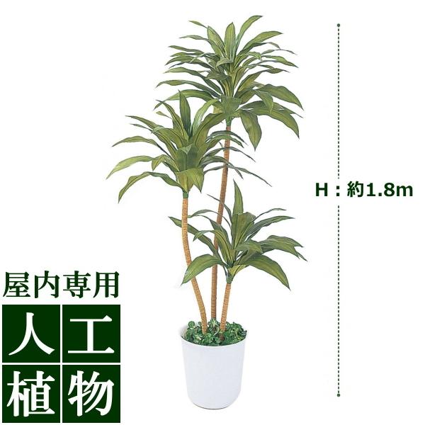 /人工植物/グリーンデコ ドラセナ 1.8m/送料無料/RCP/05P03Dec16/【HLS_DU】