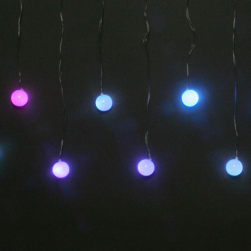 /LEDイルミネーション/LEDレインボー15球ボール/E-1/コロナ産業/RCP/05P03Dec16/【HLS_DU】