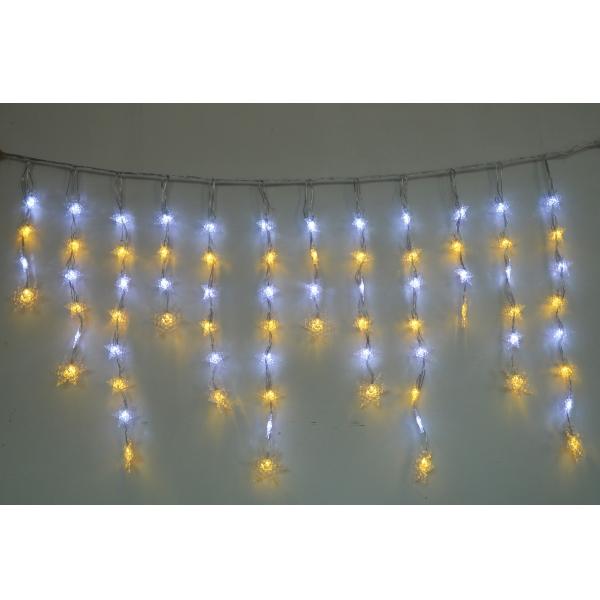 LEDイルミネーション スノーフレークつらら 白・電球色/モチーフライト/つららライト/イルミネーション/クリスマス/LED/コロナ産業/RCP/05P03Dec16/【HLS_DU】