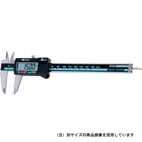シンワ・デジタルノギス大文字ホールド・200MM19976