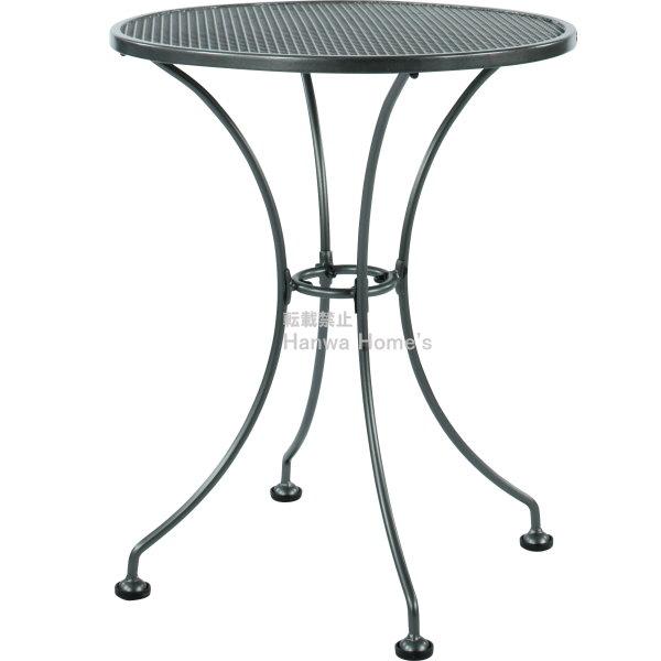 《ガーデンファニチャー/ガーデンチェアー》  メタルワーク メタルラウンドテーブル 600/ガーデンテーブル/スチール製/RCP/05P03Dec16/【HLS_DU】