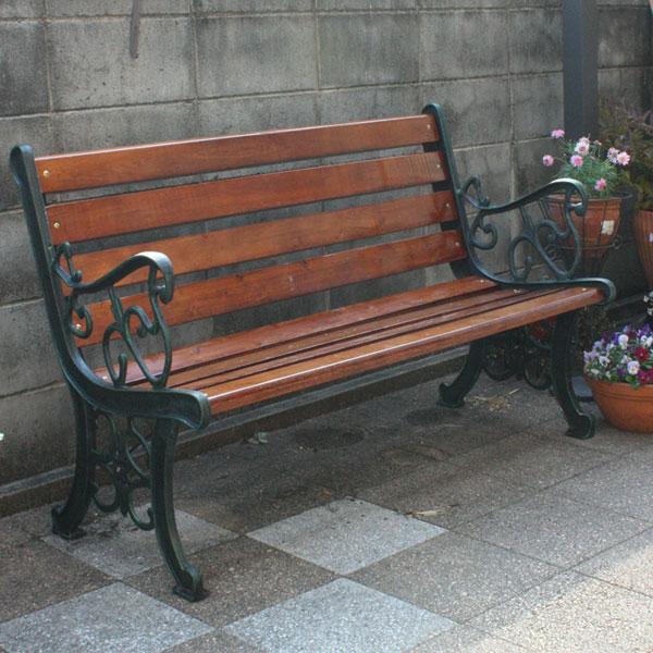 ガーデンベンチ 8枚板【大型宅配便】/ガーデンファニチャー ベンチ 木製 ベンチ 屋外 ガーデンベンチ 木製//RCP