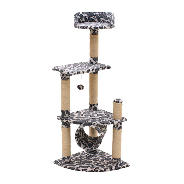 キャットタワー ヴィラ/猫タワー ペット用品 犬猫用品 おしゃれ 据え置き型/