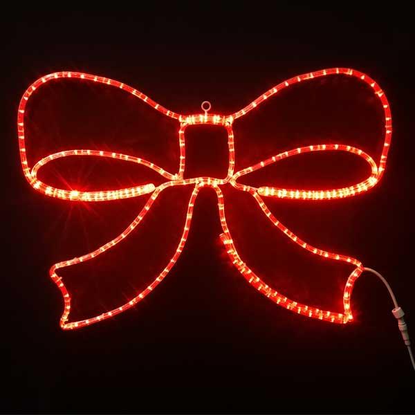 LEDイルミネーション/2Dスターモチーフ/リボン/イルミネーション/クリスマス/チューブライト/コロナ産業/RCP/
