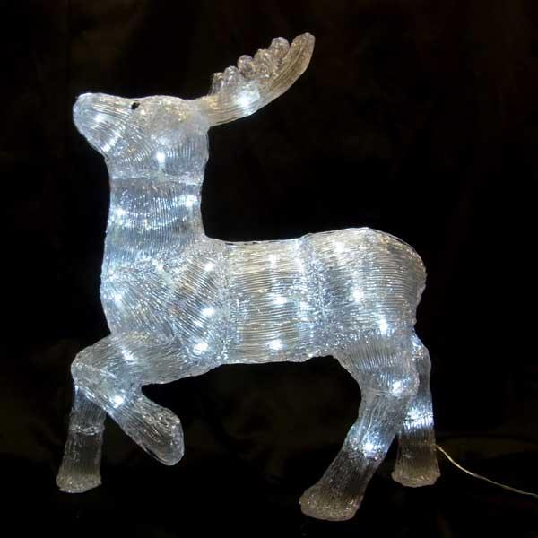 LEDイルミネーション/3Dモチーフライト LED トナカイ56/イルミネーション/クリスマス/コロナ産業/RCP